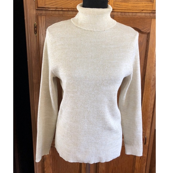 7e292844328b9b Style & Co Sweaters | Style Co Ribbed Knit Turtleneck Sweater 1x ...